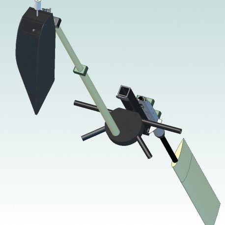 Y&B windvane self steering system